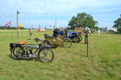 The Museum's motorcycles
