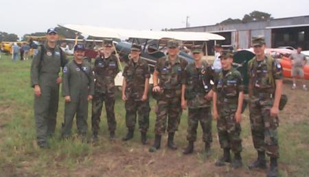 Civil Air Patrol volunteers