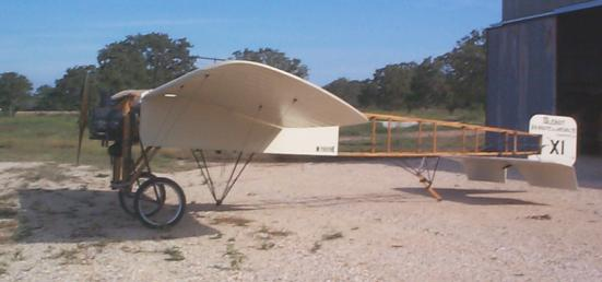Left Side View of Bleriot