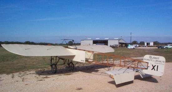 Left Rear view of Bleriot