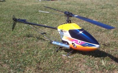 R/C Model helicopter