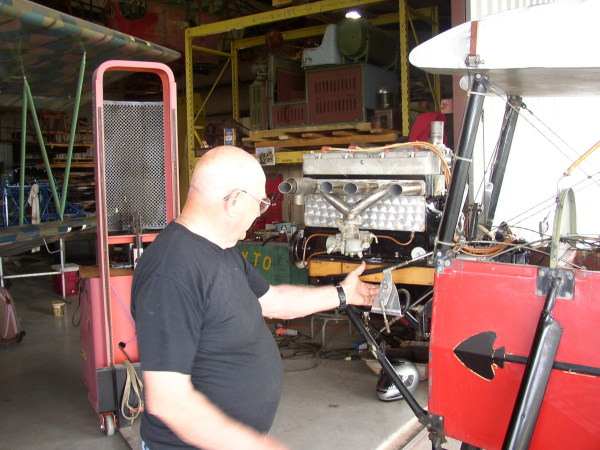 Re-installing the Pietenpol engine