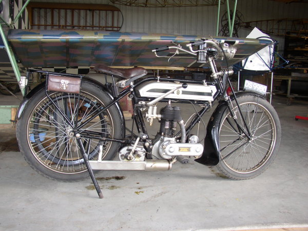 1921 Triumph motorcycle