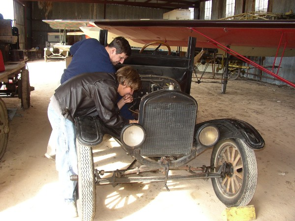 Working on the Model T electrical system