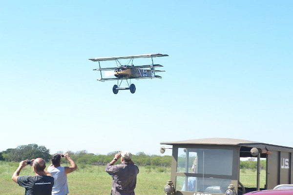 Fokker Dr.I Triplane fly-past