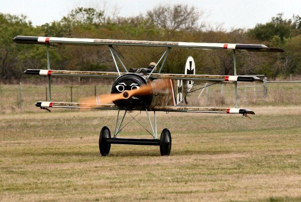 Fokker Dr.I Triplane taking off