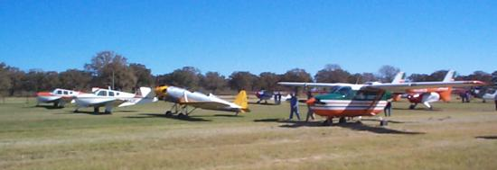 Ryan PT-22 in parking area