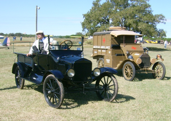 Will Rice and 1920 Ford Model T