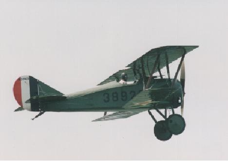 Thomas-Morse Scout in Flight