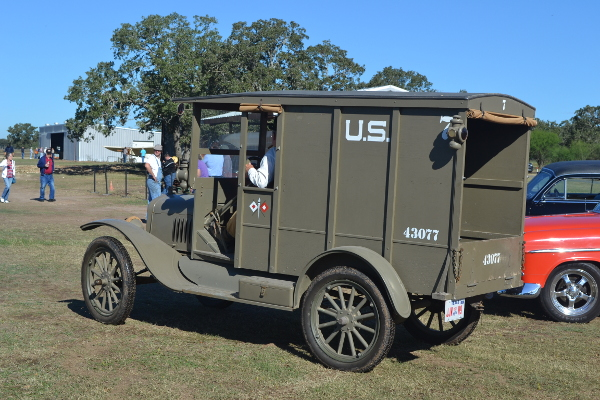 Ford Model T Signal Corps truck