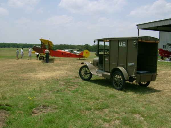 Signal Corps Model T truck